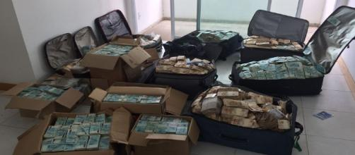 """O """"bunker"""" utilizado pelo ex-ministro Geddel Vieira Lima em Salvador-BA, onde foram encontrados R$ 51 milhões."""