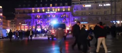 Police seek suspects in Cologne NYE sexual assaults. - [CNN / YouTube screencap]