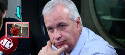Roberto de Andrade - presidente do Corinthians
