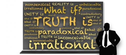 Truth depends on other values to prevail. (Image johnhain Pixabay)
