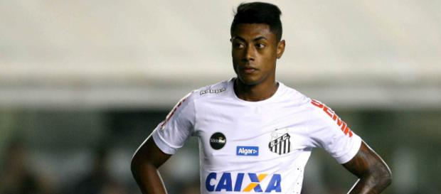 Bruno Henrique pegou cinco jogos de gancho. (Foto Reprodução).