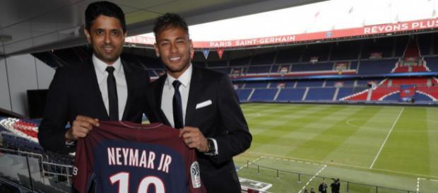 Neymar é o nº 1 da lista de 2017 e da história