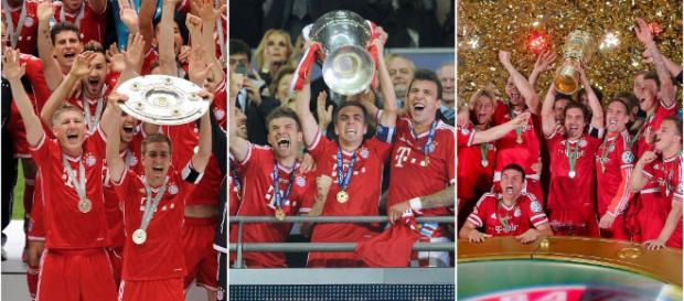 Vor vier Jahren hat der FC Bayern München das Triple gewonnen: Die ... - abendzeitung-muenchen.de