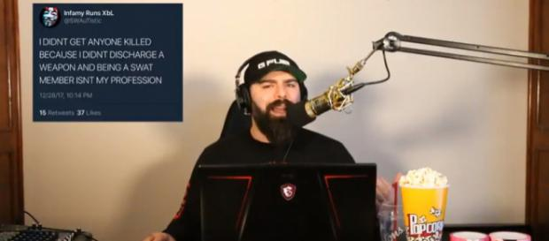 YouTuber Keemstar as he interviews the swatter known as SWAuTistic - Image Credit: DramaAlert/YouTube screencap)