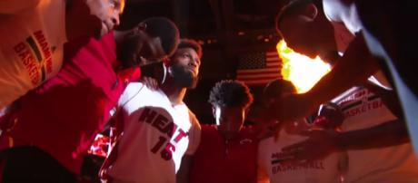Miami Heat make another addition to the roster. Image Credit: NBA / YouTube