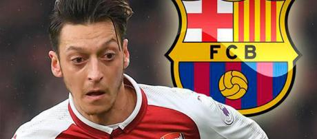 Ozil podría llegar al FC Barcelona