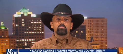 David Clarke on Fox News, via YouTube