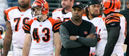Marvin Lewis is not expected back in 2018 after 15 years as head coach with the Bengals. Image Source: Flickr | Keith Allison