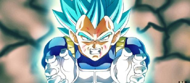Dragon Ball Super: Jiren shockingly eliminates Vegeta in the Tournament Of Power. Image credit: ExperGamez/YouTube screenshot