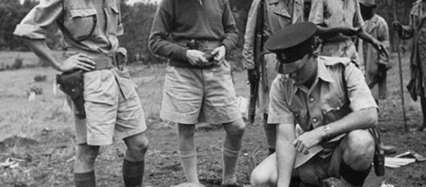 How British soldiers suppressed the Mau Mau rebellion   Daily Mail ... - dailymail.co.uk