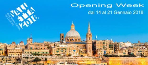 Settimana di apertura Valletta 2018