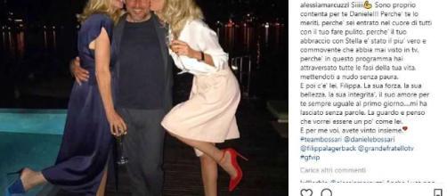 Alessia Marcuzzi: la dolcissima dedica a Daniele Bossari - bitchyf.it