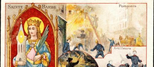 Barbe - Sainte patronne des Pompiers - monsieurbarbier.com