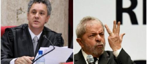 Desembargador João Pedro Gebran Neto e ex-presidente Lula
