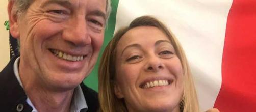 Guido Bertolaso e Giorgia Meloni insieme per Roma Capitale