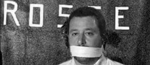 Il fotomontaggio della vergogna denunciato da Matteo Salvini
