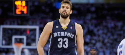 Marc Gasol, the Big Spaniard, is a potential trade target for several teams this season. – [image credit: GD Highlights/Youtube]