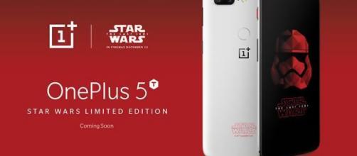 OnePlus 5T in edizione Star Wars per Gli ultimi Jedi