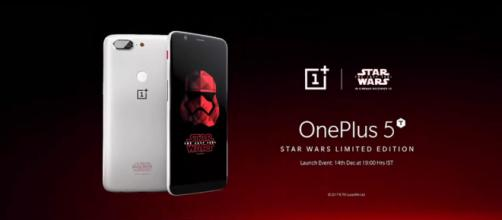 OnePlus 5T Star Wars Limited Edition (OnePlus Now/YouTube)