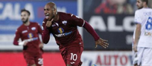 Reginaldo, ex Fiorentina e Parma, protagonista con il Trapani nel campionato di serie C