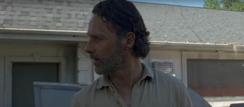 Rick Grimes in 'TWD' Season 8 premiere / Image via Daryl Dixon, YouTube screencap