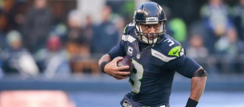 Russell Wilson has Seattle in the thick of the playoff race. [Image via NFL.com/YouTube]