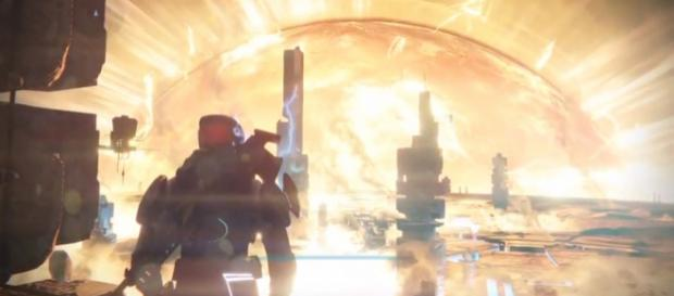 A screenshot from 'Destiny 2.' - YouTube/Jutseph