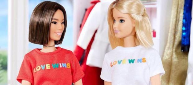 Barbie e Aimee. Foto: Reprodução/Instagram/Barbiestyle.
