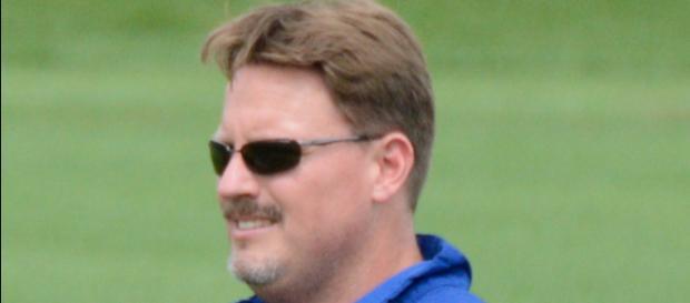 Ben McAdoo, der Headcoach der New York Giants