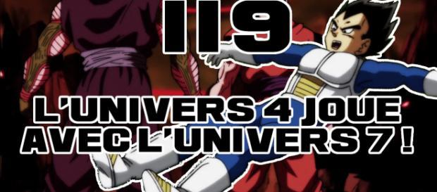 DBS 119 : L'univers 4 joue avec l'univers 7 !