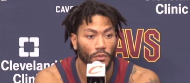 Derrick Rose has played seven games for the Cavs this season (Image Credit: cleveland.com/YouTube)