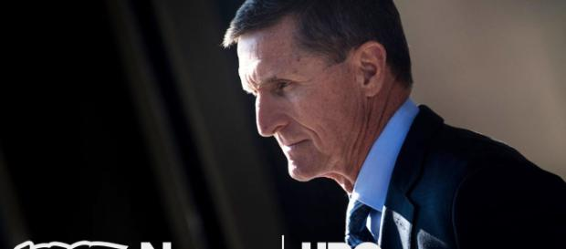 General Flynn is in teh eye of the storm. Image credit Youtube-News HBO