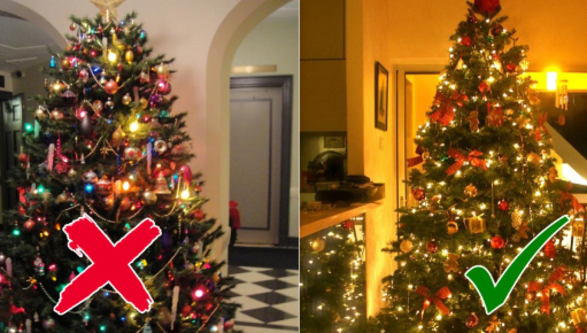 you have been hanging christmas tree lights wrong all this time - When To Start Decorating For Christmas