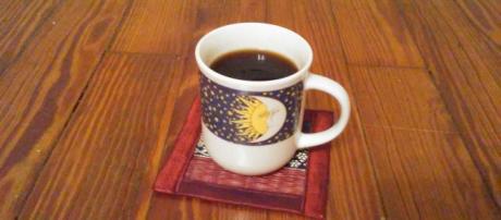 Having a hot beverage is a great way to practice self-care. [Image via Rhonda Jones]