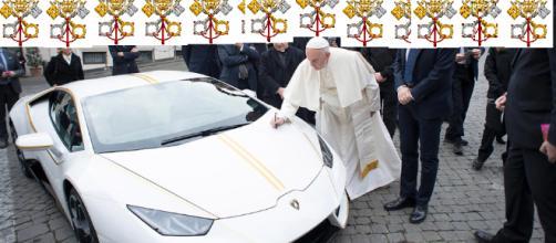 Presentão do Papa na foto com o Pontífice