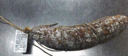 Salame nostrale del marchio La Bottega di Adò contaminato da salmonella