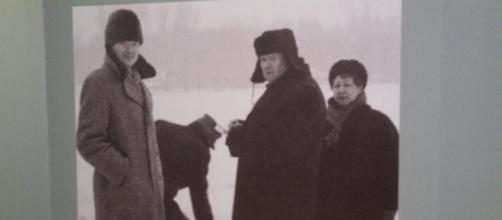 Se presentan en el Museo Mural fotos que describen la experiencia en la URSS.