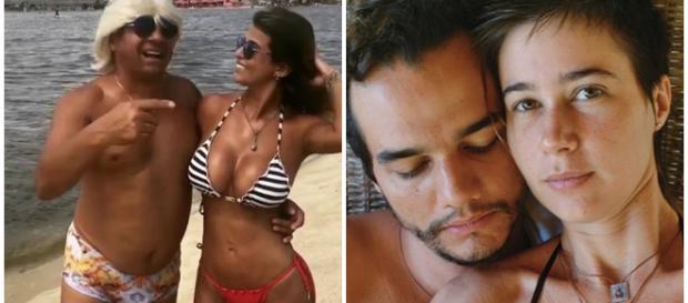 Conheça as celebridades que namoram pessoas nada atraentes