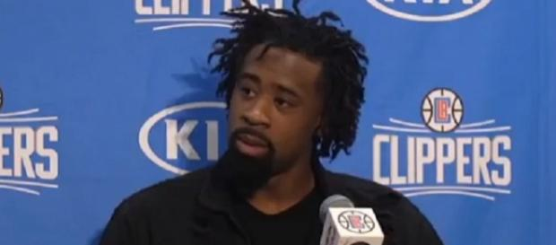 DeAndre Jordan is averaging 10.4 points and 13.9 rebounds this season (Image Credit: cavsHub/YouTube)
