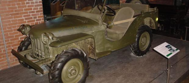 El antecesor del mítico jeep Willys, el Mark II del cual se fabricaron 5 unidades