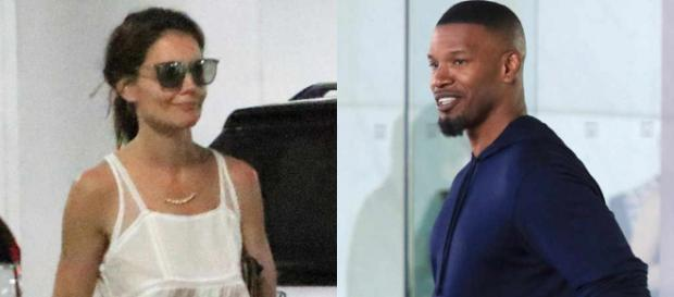 Katie Holmes and Jamie Foxx Spotted in Los Angeles Exactly Five ... - eonline.com