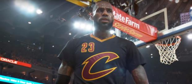 LeBron James and the Cleveland Cavaliers are on a 12-game winning streak. -- [NBA via YouTube]