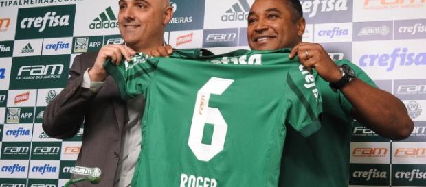 Maurício Galiotte apresenta Roger Machado