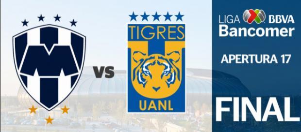 Monterrey vs Tigres Final de la Liga MX Apertura 2017.