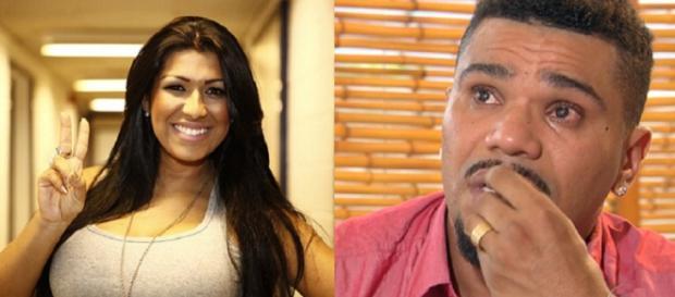 Nesta quarta-feira Naldo Benny é preso em flagrante por agredir sua mulher