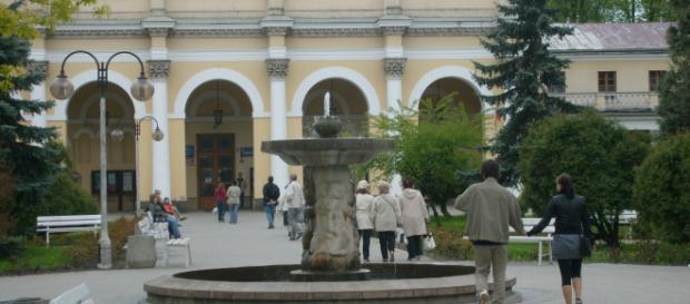 Sanatorium Marconi w Busku - Zdroju (fot. Krzysztof Krzak)