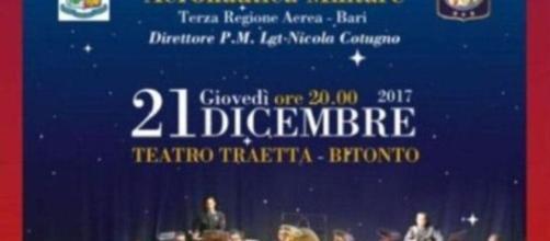 Concerto di Natale del 21 Dicembre a Bitonto (Bari)