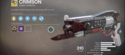 'Destiny 2's' new weapon dubbed as Crimson Image credit - YouTube/Rifle Gaming
