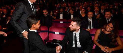 Le fils de Cristiano Ronaldo poste une photo !