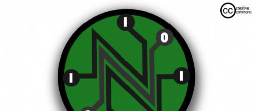 Logo for Net Neutrality by Camilo Sanchez [via Wikimedia]